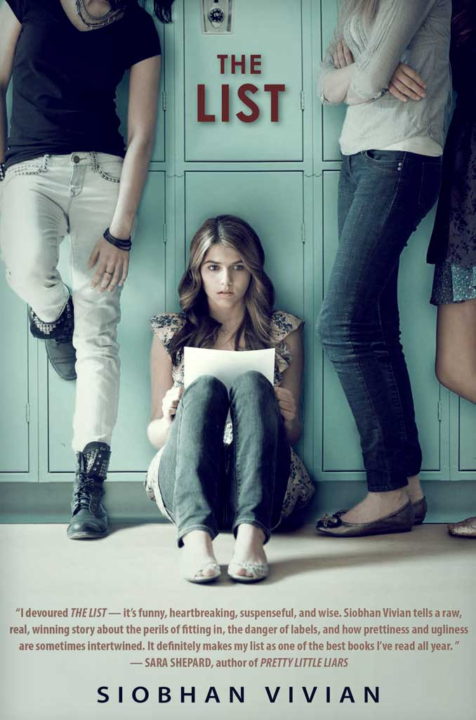 the list teenage angst novel