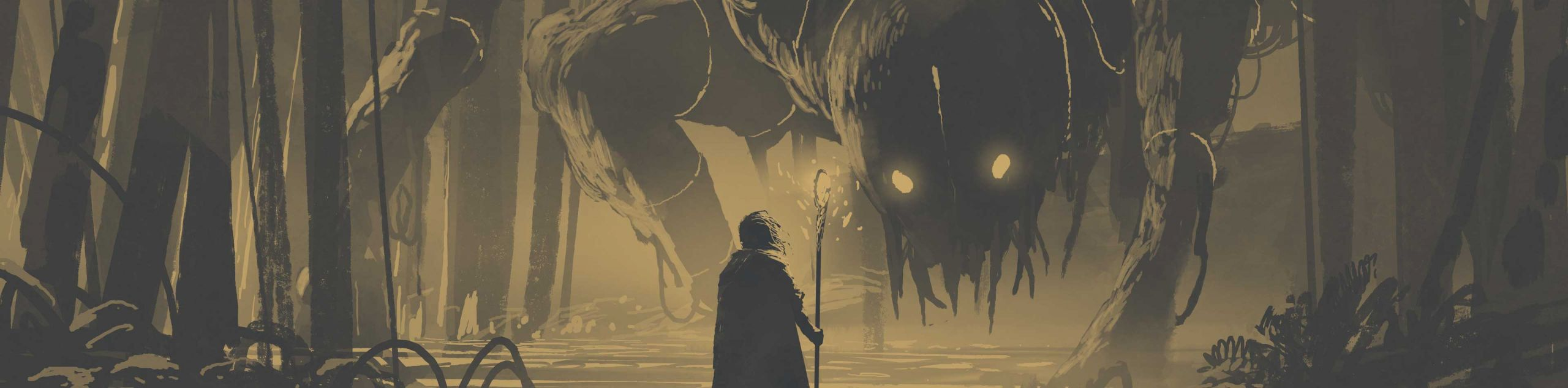 monsterjagd high fantasy setting