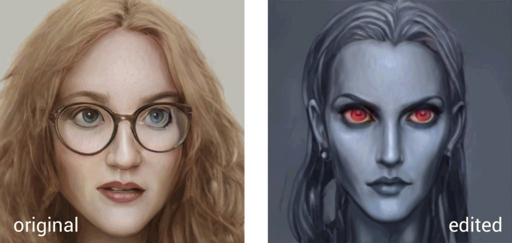 artbreeder dark elf npc portrait