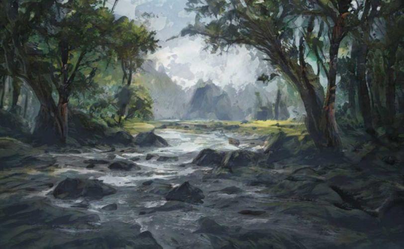artbreeder-landscape-forest-river